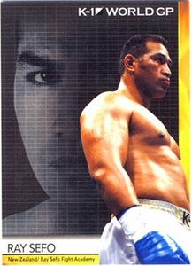 Epoch MMA K-1 World GP Trading Card #19 Ray Sefo