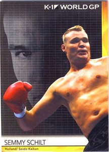 Epoch MMA K-1 World GP Trading Card #18 Semmy Schilt