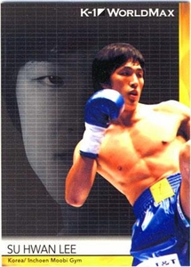 Epoch MMA K-1 World GP Trading Card #37 Su Hwan Lee