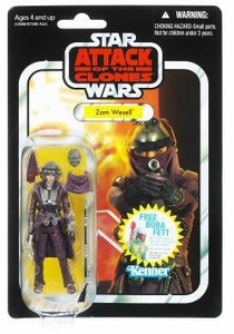 Star Wars 2011 Vintage Collection Action Figure #30 Zam Wesell