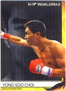 Epoch MMA K-1 World GP Trading Card #53 Yong Soo Choi