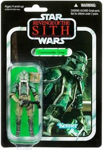 Star Wars 2011 Vintage Collection Action Figure #43 Commander Gree