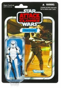 Star Wars 2011 Vintage Collection Action Figure #45 Clone Trooper [Episode II]
