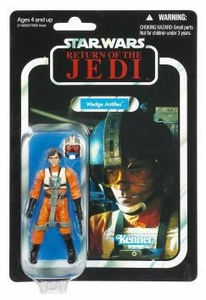 Star Wars 2011 Vintage Collection Action Figure #28 Wedge Antilles Damaged Package, Mint Contents!