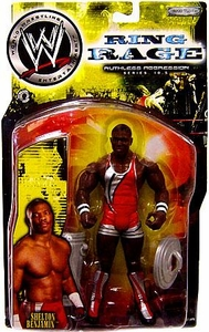 WWE Jakks Pacific Wrestling Action Figure Ruthless Aggression Series 10.5 Shelton Benjamin