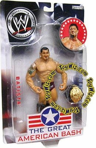 WWE Jakks Pacific Wrestling Great American Bash Pay Per View Action Figure Batista BLOWOUT SALE!