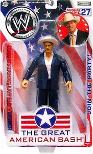 WWE Jakks Pacific Wrestling Great American Bash Pay Per View Action Figure JBL John Bradshaw Layfield