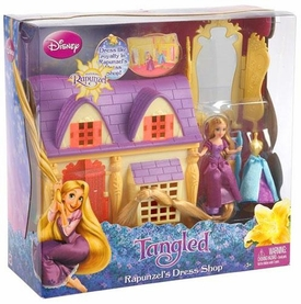 Disney Tangled Playset Rapunzel Dress Shop
