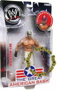 WWE Jakks Pacific Wrestling Great American Bash Pay Per View Action Figure Rey Mysterio