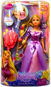 Disney Tangled Fashion Doll Grow & Style Rapunzel