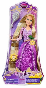 Disney Tangled Exclusive 12 Inch Poseable Doll Rapunzel with 17 Inches of Hair! [Includes Pascal & Hairbrush!]
