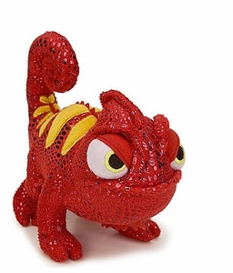 Disney Tangled 6 Inch Plush Figure Chameleon RED Pascal