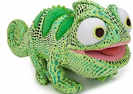 Disney Tangled 6 Inch Plush Figure Chameleon GREEN Pascal [Happy Face, Open Mouth]