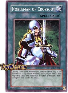 YuGiOh GX Dragon's Roar Single Card SD1-EN012 Nobleman of Crossout