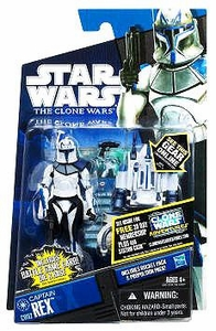 Star Wars 2011 Clone Wars Action Figure CW No. 62 Captain Rex [Jet Pack]
