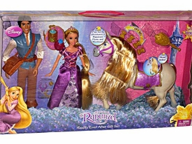 Disney Tangled Rapunzel Playset 3-Pack Happily Ever After Gift Set