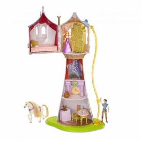 Disney Tangled Deluxe Playset Rapunzels Magical Tower
