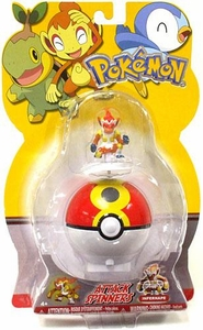 Pokemon Attack Spinner Poke Ball Infernape