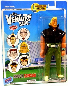 Bif Bang Pow! Venture Bros. Series 1 Action Figure Brock Samson