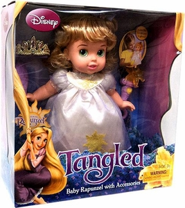 Disney Tangled Baby Rapunzel with Accessories
