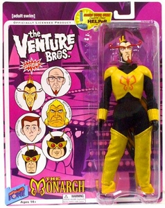 Bif Bang Pow! Venture Bros. Series 2 Action Figure The Monarch