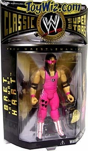 WWE Jakks Pacific Wrestling Classic Superstars Series 3 Action Figure Bret