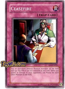 YuGiOh GX Dragon's Roar Single Card SD1-EN022 Ceasefire