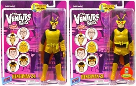 Bif Bang Pow! Venture Bros. 2010 SDCC San Diego Comic-Con Exclusive Set of Both Series 3 Action Figures Henchman 21 & Henchman 24