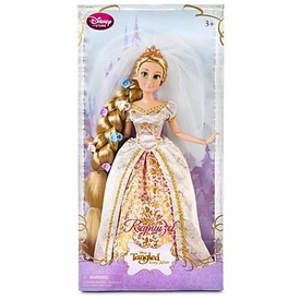 Disney Tangled Ever After Exclusive 12 Inch Doll Rapunzel in Wedding Gown [Flowers In Hair!]