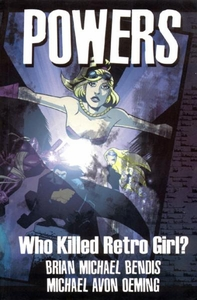 Image Comic BooksPowersVol. 1 Who Killed Retro GirlTrade Paperback