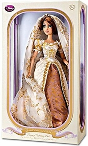 Disney Tangled Ever After Exclusive Limited Edition 17 Inch Deluxe Doll Wedding Rapunzel Only 8,000 Made!