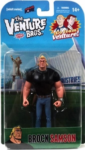 Bif Bang Pow! Venture Bros. 3 3/4 Inch Series 1 Action Figure Brock Sampson