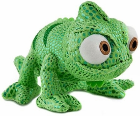 Disney Tangled 8 Inch Bean Plush Figure Chameleon GREEN Pascal [Closed Mouth]