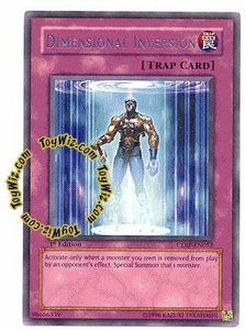 YuGiOh GX Cyberdark Impact Single Card Rare CDIP-EN052 Dimensional Inversion