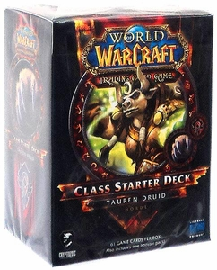 World of Warcraft Trading Card Game Spring 2013 Class Starter Deck Horde Tauren Druid