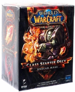 World of Warcraft Trading Card Game Spring 2013 Class Starter Deck Horde Undead Mage