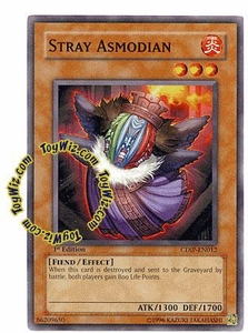YuGiOh GX Cyberdark Impact Single Card Common CDIP-EN012 Stray Asmodian