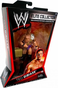 Mattel WWE Wrestling Elite Series 10 Action Figure Ted Dibiase {Random Color Trunks} [Million Dollar Belt!]