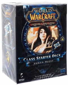 World of Warcraft Trading Card Game Spring 2013 Class Starter Deck Alliance Human Priest