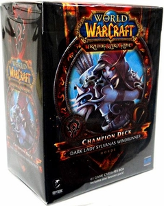 World of Warcraft Trading Card Game Champion Deck Dark Lady Sylvanas Windrunner