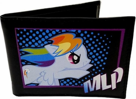 My Little Pony Brony Bifold Wallet Rainbow Dash