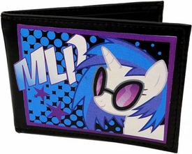 My Little Pony Brony Bifold Wallet DJ P0N-3