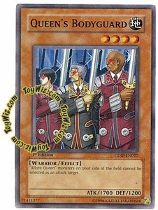 YuGiOh GX Cyberdark Impact Single Card Common CDIP-EN027 Queen's Bodyguard