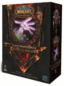 World of Warcraft Trading Card Game Summer 2011 Class Starter Deck Horde Blood Elf Warlock