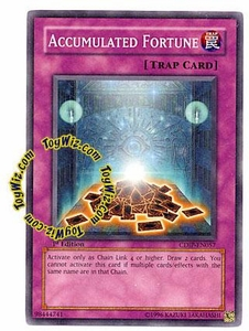 YuGiOh GX Cyberdark Impact Single Card Common CDIP-EN057 Accumulated Fortune