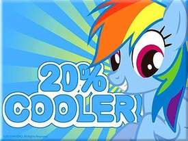 My Little Pony Magnet Rainbow Dash [20% Cooler]