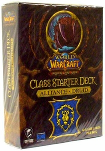 World of Warcraft Trading Card Game Class Starter Deck ALLIANCE Druid