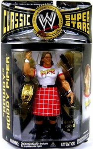 WWE Wrestling Exclusive BEST OF Classic Superstars Action Figure Rowdy Roddy Piper