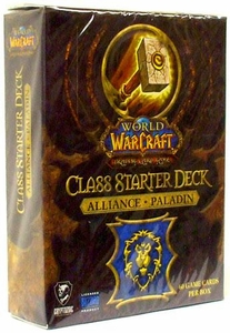 World of Warcraft Trading Card Game Class Starter Deck ALLIANCE Paladin