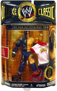WWE Jakks Pacific Wrestling Classic Superstars Toy Fair 2007 Action Figure Wrestlemania VI Rowdy Roddy Piper [1 of 100]